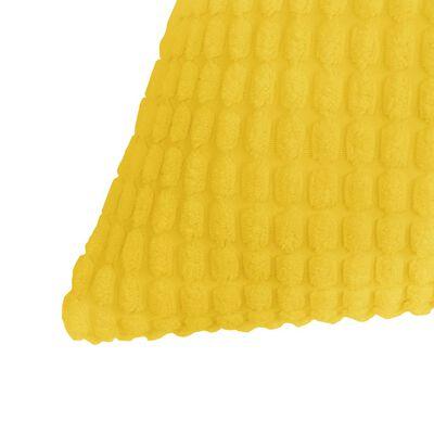 vidaXL Cojines de terciopelo 40x60 cm amarillo 2 unidades