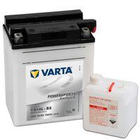 Batería para motocicleta Varta Freshpack, 12 V 14 Ah YB14L-B2