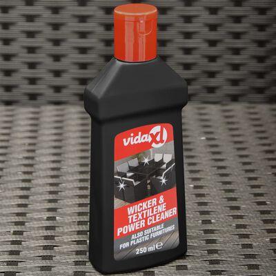 vidaXL Limpiador de muebles de jardín de ratán y textilene 250 ml