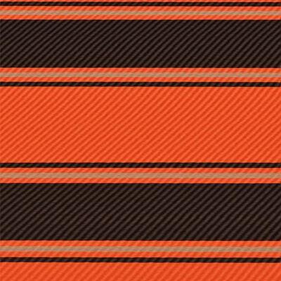 vidaXL Toldo retráctil con LED naranja y marrón 400x150 cm