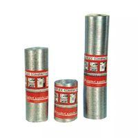 Tubo Aluminio Retractilado 1mt - ESPIROFLEX - 02181100060 - 100 MM