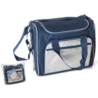 Bolsa De Frío/bolsa De Frío 21 Litros - Azul/plata - 36x22x30cm