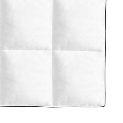 vidaXL Edredón de plumón de invierno 240x220 cm