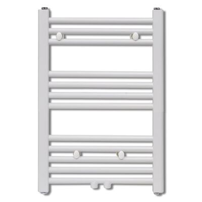vidaXL Radiador toallero de baño recto 500 x 764 mm