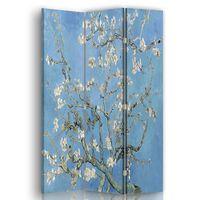 Biombo Almendro En Flor - Vincent Van Gogh - Separador de Ambientes