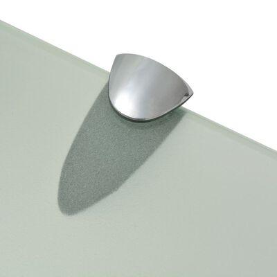 vidaXL Estante flotante de cristal 50x10 cm 8 mm