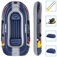 Bestway Hydro-Force Set de barca inflable Treck x2 255x127 cm