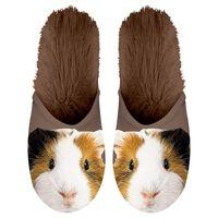Plenty Gifts Zapatillas de felpa animales cobaya marrón № 39-42 42557