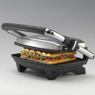 Ariete Grill y tostador delgado 1000 W