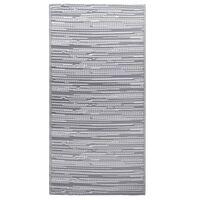 vidaXL Alfombra de exterior PP gris 120x180 cm