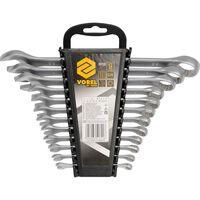 VOREL Set de llaves inglesas de combinación 12 piezas 6-22 mm