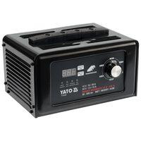 YATO Cargador de batería digital y puesta en marcha 12/24 V 30 A 230 V
