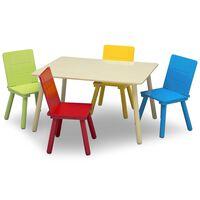 Delta Children Juego de mesa y silla infantil multicolor
