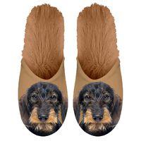 Plenty Gifts Zapatillas de felpa animales teckel marrón № 39-42 42551
