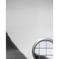 Wallface 10639-sa Panel De Pared Mosaico Plata