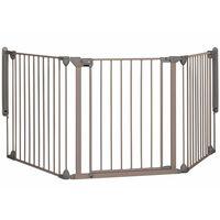 Safety 1st Puerta seguridad Modular 3 3 Paneles gris 82-214cm 24226580