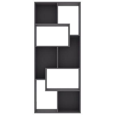 vidaXL Estantería de aglomerado gris 67x24x161 cm