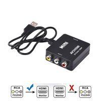 Adaptador Cinch a HDMI Converter - Negro