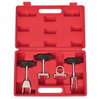 vidaXL Kit extractor de bobina de encendido 4 piezas para VW Audi