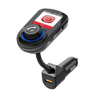 Adaptador Bluetooth para automóvil - Transmisor FM - Cargador para aut