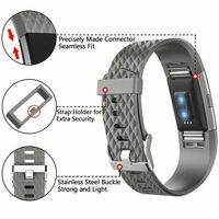 Pulsera Fitbit Charge 2 Silicona Gris (s)