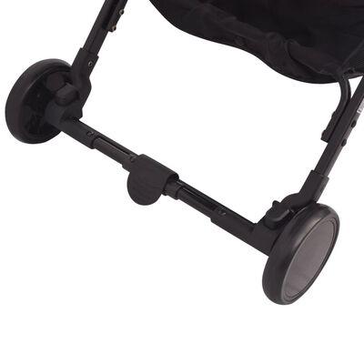 vidaXL Sillita de paseo 89x47,5x104 cm gris