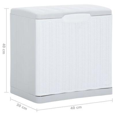 vidaXL Mueble zapatero blanco 40x30x40 cm