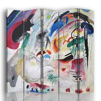 Biombo Improvisación - Wassily Kandinsky - Separador de Ambientes