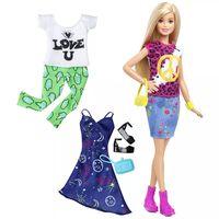 Barbie Muñeca Barbie Fashionistas paz y amor DTD98