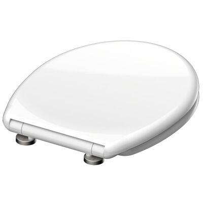 SCHÜTTE Tapa de váter WC WHITE duroplast