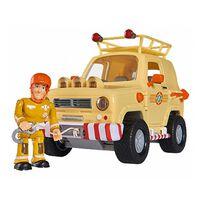 Fireman Sam Coche de rescate de juguete Mounain 4x4