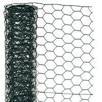 Nature Alambrada hexagonal 1x5 m 13 mm acero recubrimiento plástico