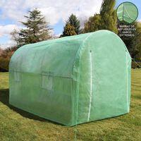 Invernadero Politúnel Galvanizado 25mm 3 X 2m Al Aire Libre