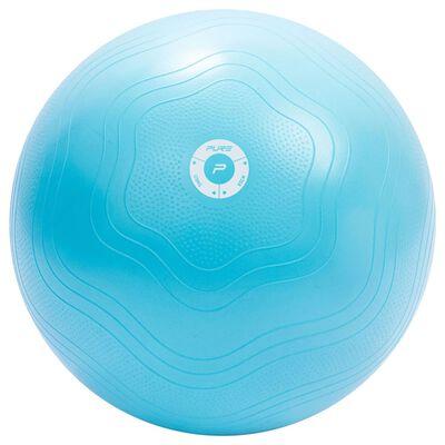 Pure2Improve Pelota de ejercicio azul claro 65 cm