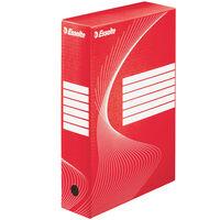 Esselte Cajas archivadoras 25 unidades rojo 80 mm