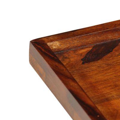 vidaXL Bandeja de madera maciza de sheesham 50x50 cm