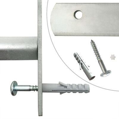 vidaXL Rejas de seguridad de ventana ajustables 2 uds 1000-1500 mm