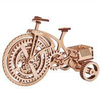 Wood Trick Maqueta a escala de bicicleta de madera
