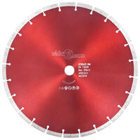 vidaXL Disco de corte de diamante acero 350 mm