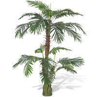 vidaXL Árbol palmera artificial Cycas 150 cm