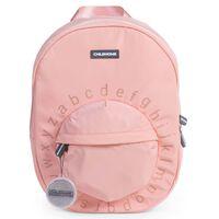 CHILDHOME Mochila escolar para niños ABC rosa y cobre