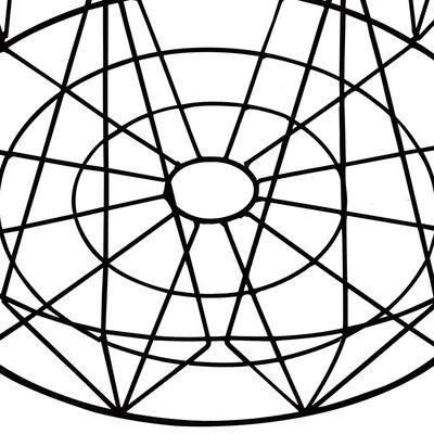 vidaXL Mesas de centro 2 unidades negro