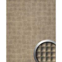 Wallface 17851-sa Panel De Pared Aspecto De Cuero Bronce