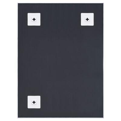 vidaXL Espejo blanco 80x60 cm