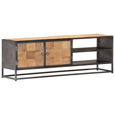 vidaXL Mueble para la TV de madera maciza reciclada 120x30x40 cm