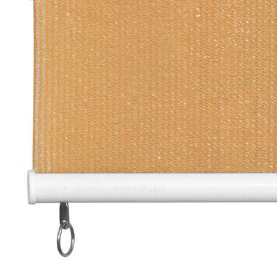 vidaXL Persiana enrollable de exterior 120x230 cm beige