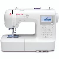 Singer Máquina de coser Stylist blanca F9100