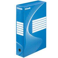 Esselte Cajas archivadoras 25 unidades azul 80 mm