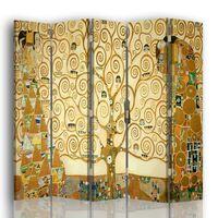 Biombo El Árbol De La Vida - Gustav Klimt - Separador de Ambientes