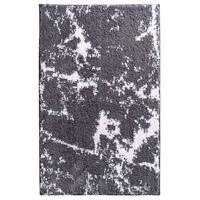 RIDDER Alfombra de baño Marmor gris y blanco 90x60 cm